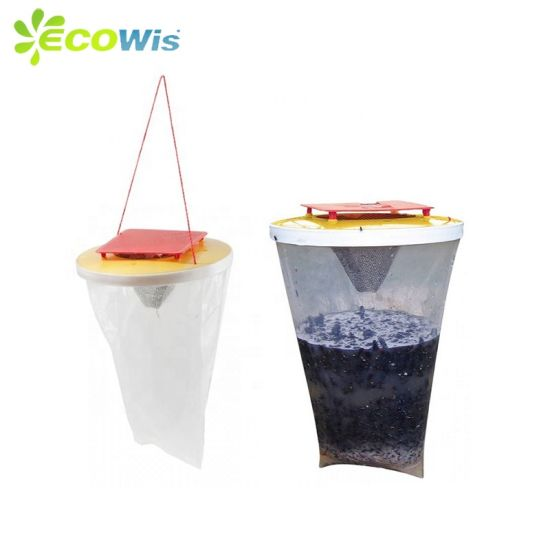 No Electricity Pest Control Flies Away Catching Bag Hanging Fly Trap