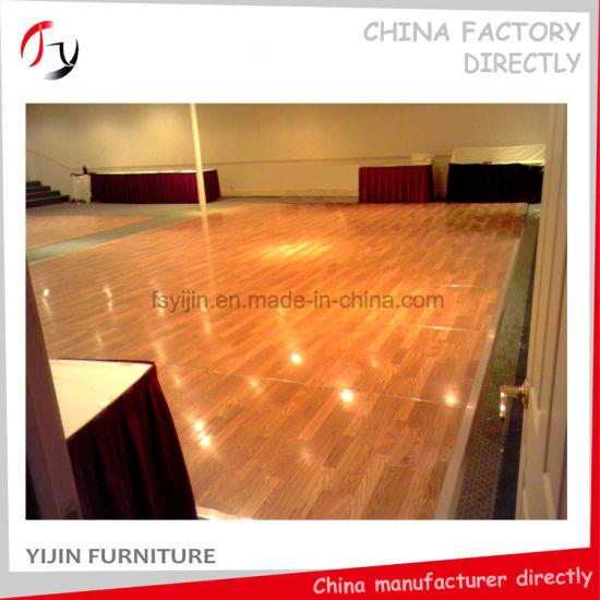 China Club Event Room Hotel Best Portable Dance Floor Design Df 51