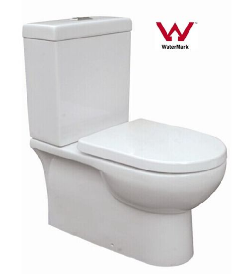 Australian Standard Watermark Bathroom Washdown Two-Piece Ceramic Toilet (HZX-99)