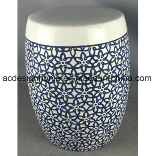 Tremendous Chinese Gorgeous Blue And White Flower Patterned Porcelain Gamerscity Chair Design For Home Gamerscityorg