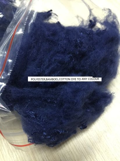 Polyester/Bamboo/Cotton Fiber Dye pictures & photos