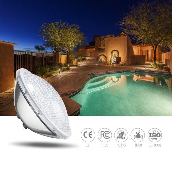18W 24W RGB Pool Light PAR56 Bulb Stainless Steel LED Underwater Lamp