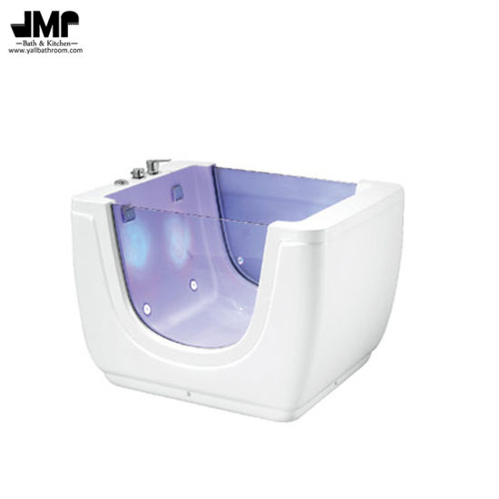 Freestanding Baby Bath Tub Infant Jacuzzi Massage Bathtub