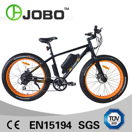 Electric Fat Tyre Snowbike Bike with 250W Crank Motor pictures & photos