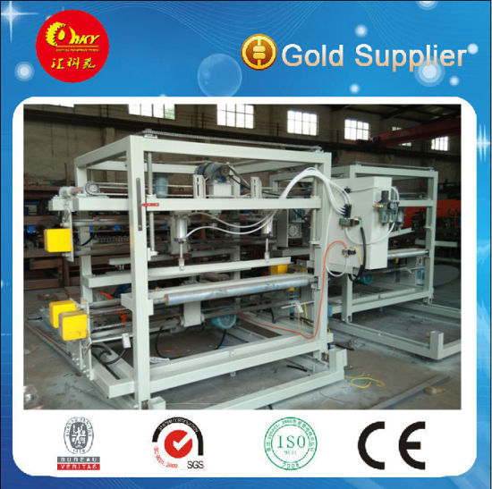 Color Steel EPS or Rockwool Composite Board Production Line pictures & photos