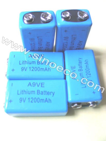 Power Type Lithium Maganese Dioxide Battery (3.0 V) Dry Cell pictures & photos