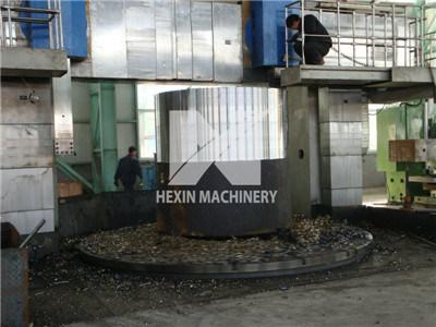 Open Die Forging for Heated Steel Ingot
