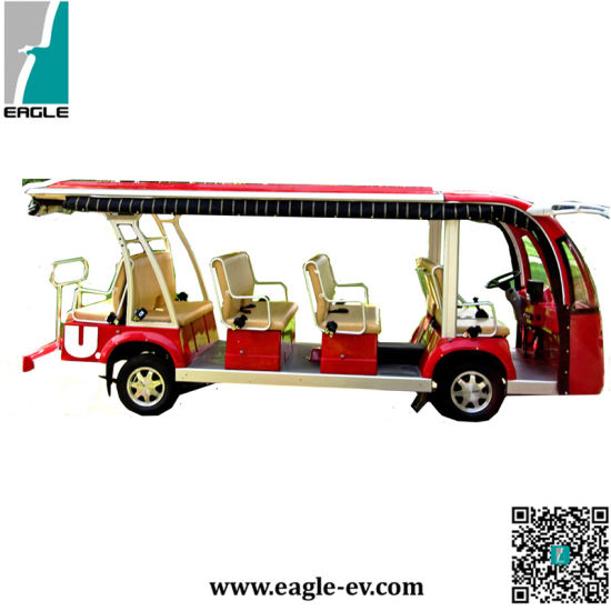 Electric Sightseeing Bus, Electric Tourist Bus, 14 Seats, Eg6158K, Ce