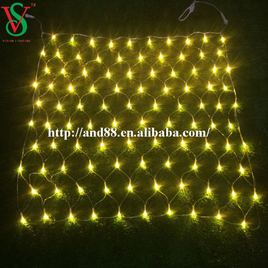 transparent cable 22m led net light for led christmas lights