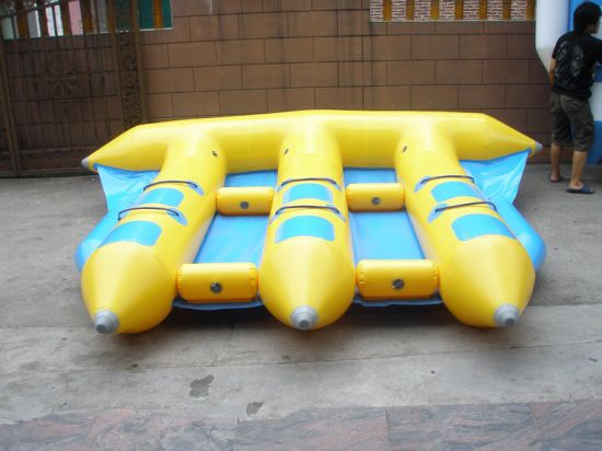 Inflatable Flying Tube Inflatable Boat Water Inflatable Game for 6 People pictures & photos