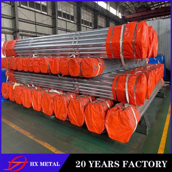 ASTM A53b ERW Steel Pipe/4 Inch 40g Zinc Gi Pipe