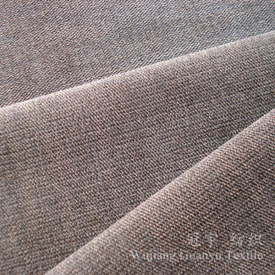 Polyester And Nylon Cut Pile Corduroy Sofa Fabrics