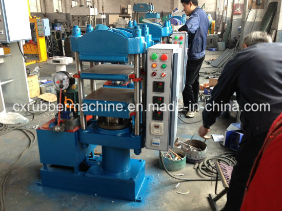 80t Four Column Vulcanizing Press, Hydraulic Curing Press pictures & photos