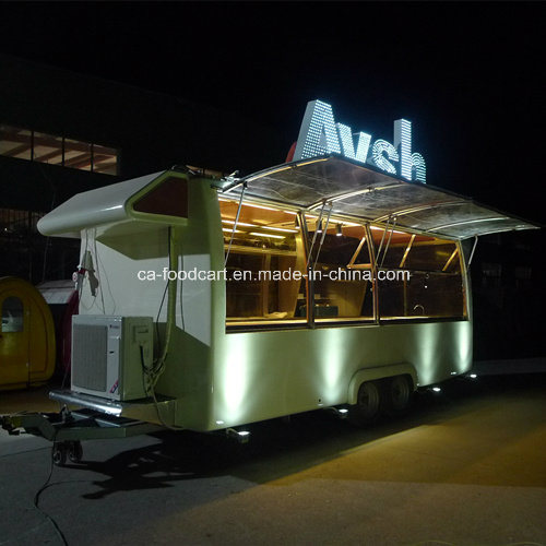 5.6m Customized Large Food Trailer for Sale pictures & photos