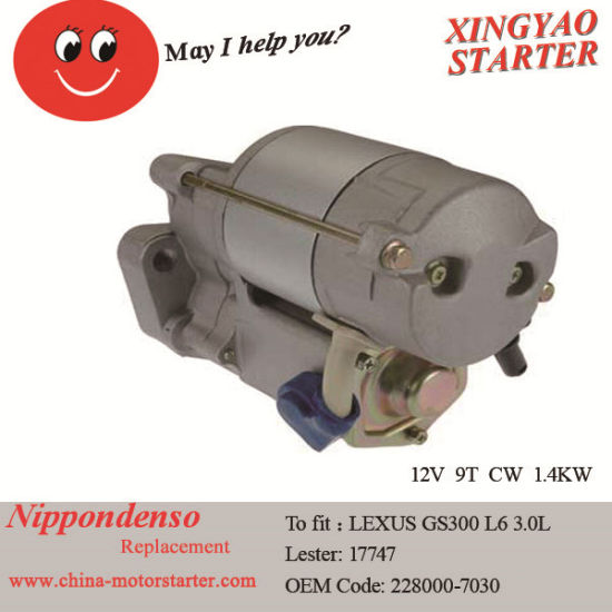 China 1998-2001 Car Starter Cost for Toyota Camry (228000