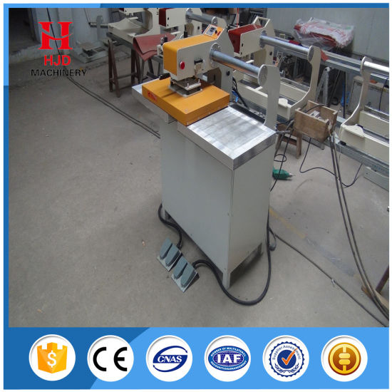 Hjd-J3 Double-Position Semi-Automatic Heat Transfer Machine pictures & photos