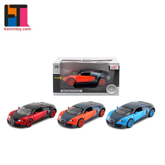 Scale 1: 32 Die-Cast Car with Light & Sound Christmas Gift (10226603) pictures & photos
