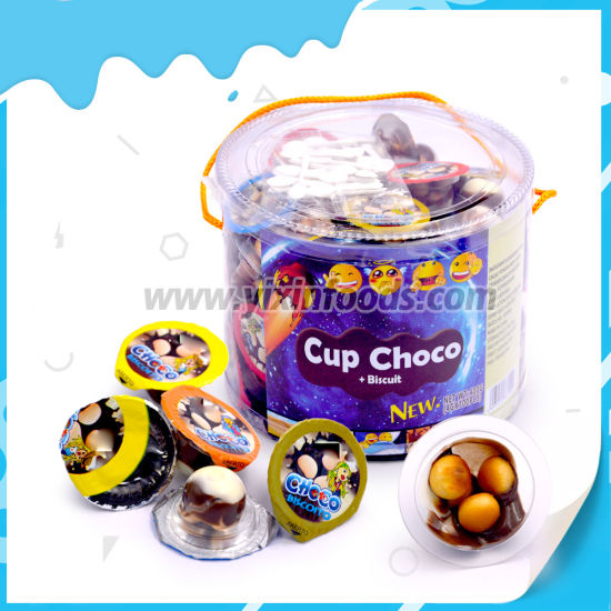 Wholesale 4G Chocolate Cup with Ball Shape Biscuit