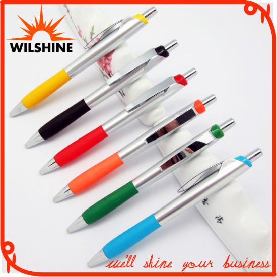 Personalized Design Wholesale Plastic Ball Point Pen for Writing (BP1202A)