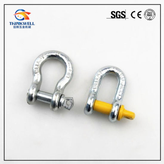 G209 Forged Bow Shaped Screw Pin Anchor Shackle pictures & photos