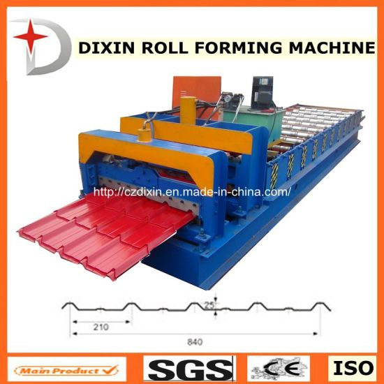 Dx Roof Panel Roll Forming Machine/Roof Sheet Roll Forming Machine pictures & photos