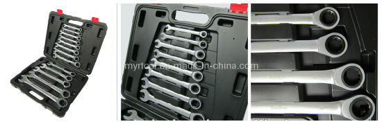 13PCS Professional High Quality Gear Wrench Tool Set