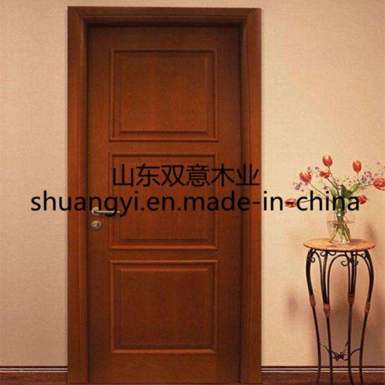 Best Wood Teak Wood China Solid Wood Interior Doors Design