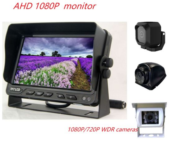 Ahd 720p 7inch Monitor Car Rear View System