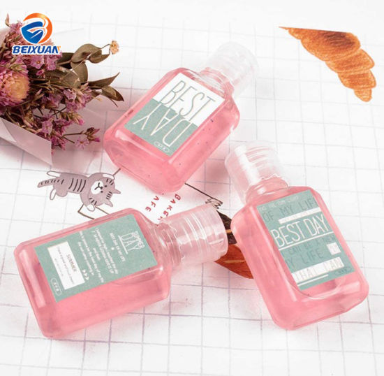 Fast Delivery 60ml 2oz Mini Plastic Anti-Bacterial Portable Hand Sanitizer Bottle