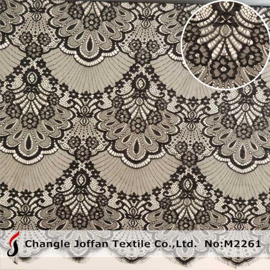 Fashion Eyelash Tulle Lace Fabric Voile Lace Swiss Lace (M2261)