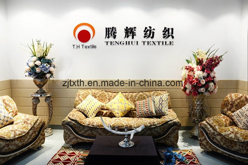 Latest Sofa Fabrics Large Jacquard Pattern Chenille Sofa Fabric pictures & photos
