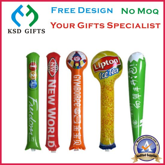 Custom Printed Cheering Sticks, Inflatable Toy, Inflatable Products