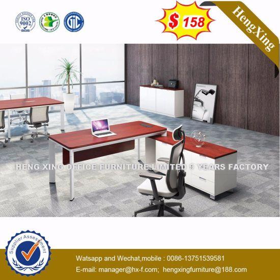 L Shape Office Furniture Light Color Desk Executive Table Hx Nj5097