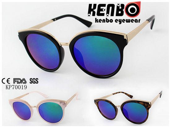 d4b74a252a3a China Best Selling Cool Sunglasses with Blue Lenses Kp70019 - China ...