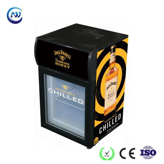 20L with Light Box Commercial Fridge Bottle Showcase (JGA-SC20)