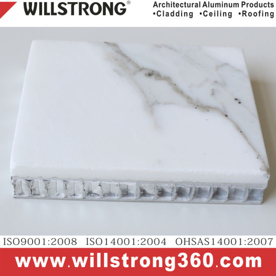 Stone Texture Aluminum Honeycomb Panel for Facade pictures & photos