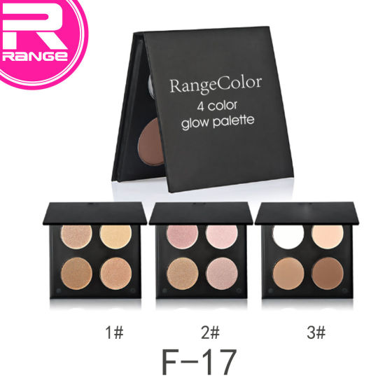 4 Color Contour Palette Glow Kit Shading & Highlighter for Any Skin Colors Contour pictures & photos