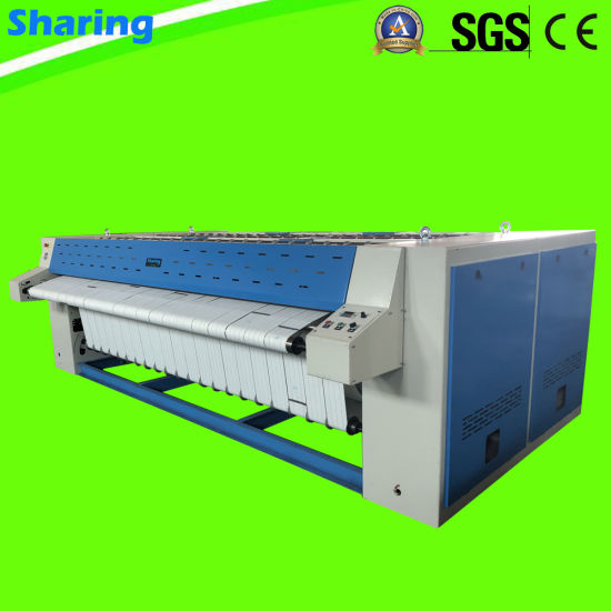 Double Roller Automatic Industrial Bedsheets Ironing Machine Flatwork Ironer for Hotel Laundry