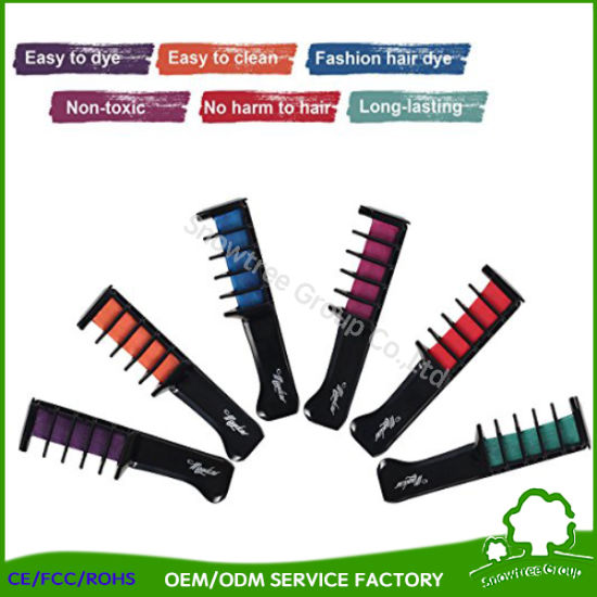 China Without Chemicals Hair Color Dye Chalk The Black Magic ...