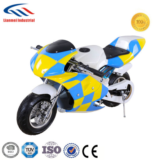 49cc 2-Stroke Gas Pocket Bike pictures & photos