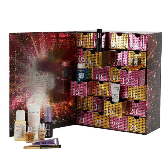 24 Advent Calendar Cosmetic Box with Glitter pictures & photos