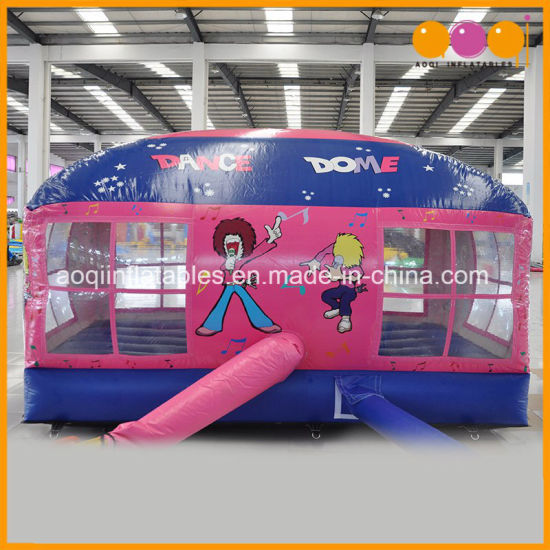 Dance Dome Inflatable Moonwalk Bounce House for Kids (AQ303-1) pictures & photos