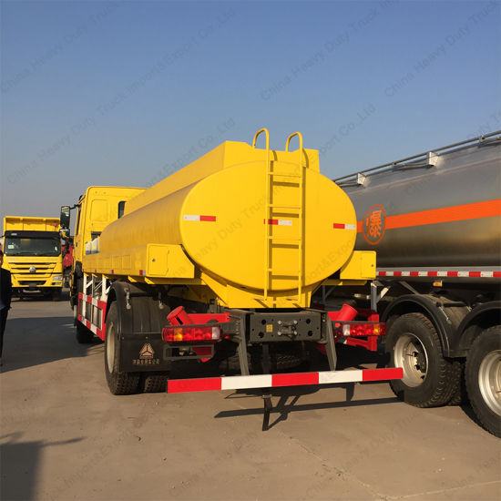 Sinotruk HOWO 6X4 Oil Tank Transport Truck with High Quality pictures & photos
