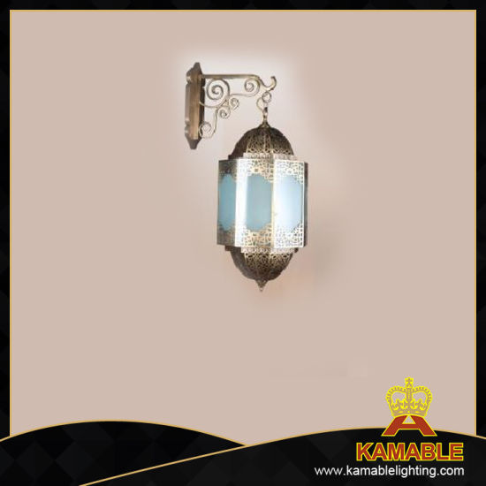 Church Decorative Brass and Glass Wall Light (KAM0369-03)