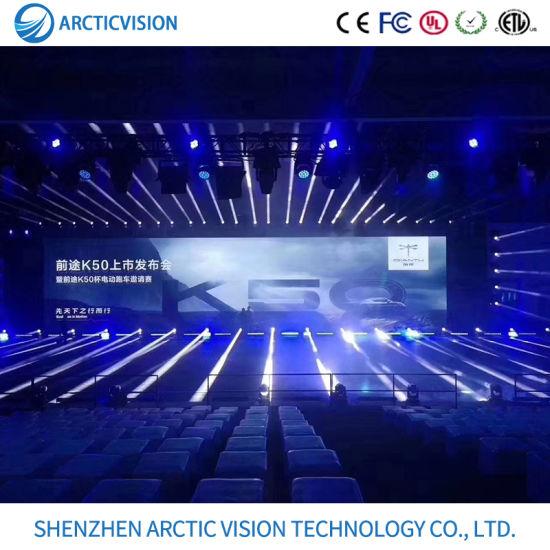 Nova SMD Video Display Indoor Rental Screen LED Display P2.9 P4.8 P3.9 P5.9 500mm * 500mm / 1000mm * 500mm Commercial Rental