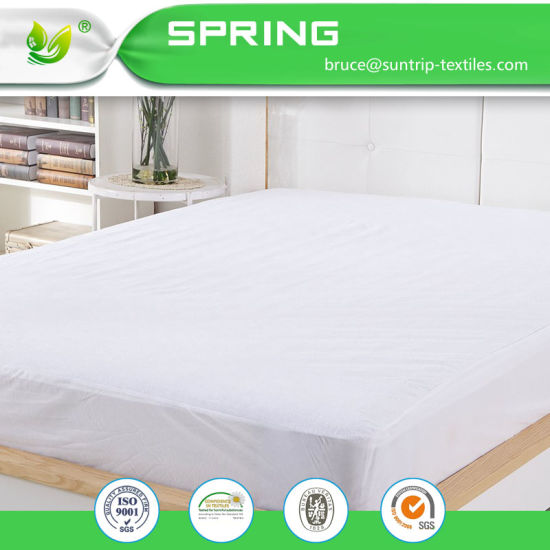Mattress Cover Protector Waterproof Bed Cover Deep Pocket Fit Pad Hypoallergenic