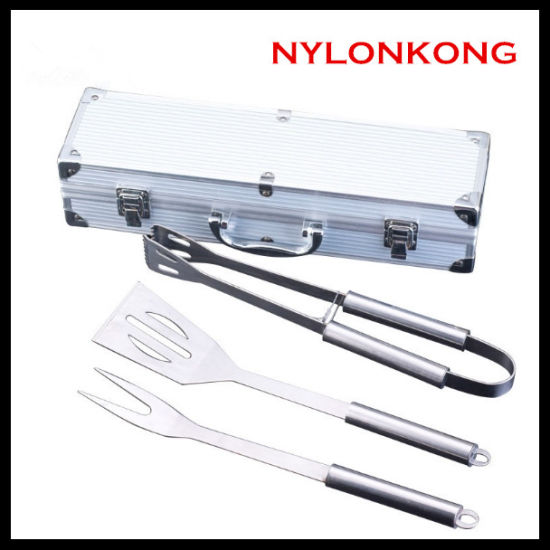 High Quality Food Grade Stainless Steel BBQ Tools Set