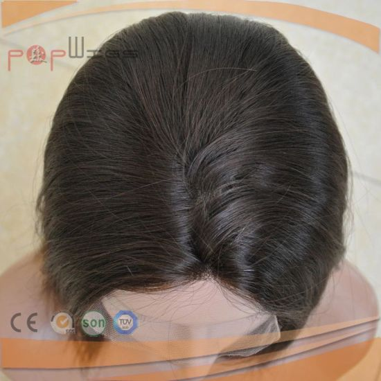 European Hair Lace Front Medical Wig (PPG-l-01788) pictures & photos