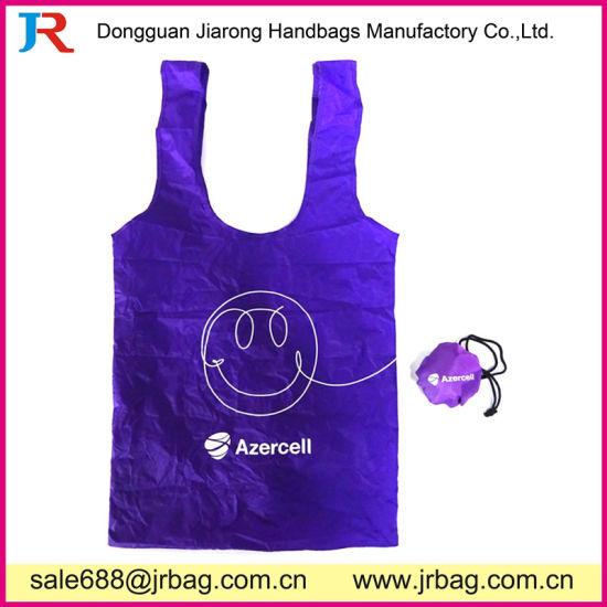 6029588d37 China High Quality Gift Fashion Folding Nylon Polyester Shopping ...