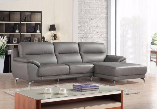 European Modern Big L Shape Sectional Leather Sofa Sbl 1715